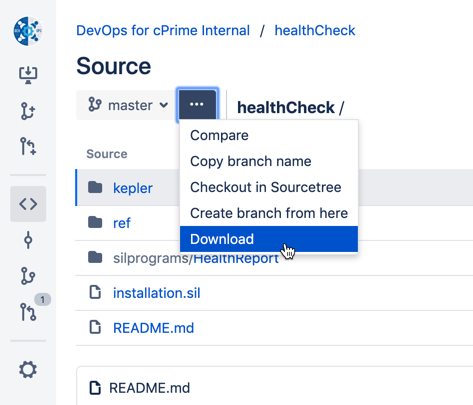 Installation - Health Reports - Confluence